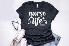 Nurse Life - Nurse SVG Cut Files Product Image 2
