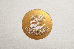India Dance logo symbol illustration Product Image 2