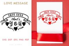 True Love SVG - LOVE Valentine's Day Product Image 1