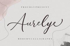 Aurelye Modern Calligraphy Product Image 1