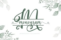 Monogram Calligraphy Product Image 1