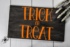 Halloween Night - A Spooky Hand-Lettered Font Product Image 2
