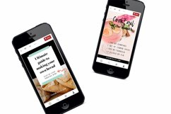 Scroll Stopping Food Blogger Pinterest Pin Pack | Canva Product Image 4