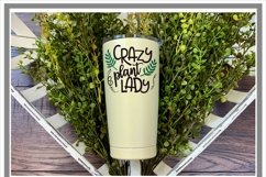 Crazy Plant Lady Plant Lover SVG Product Image 3