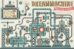 Steampunk machine parts bundle Product Image 4