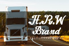 Truck Title Font Product Image 5