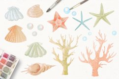 Nautical watercolor clipart collection Product Image 3