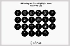 FLORAL Instagram Story Highlight Icons Product Image 2