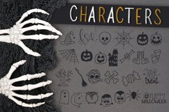 OctobaDoodles - A Halloween Doodle Font Product Image 2
