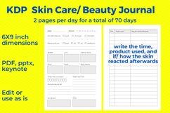 KDP Skincare, Beauty Journal Product Image 5