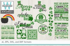 BUNDLED St. Patrick's Cutting Files KWDB021 Product Image 1