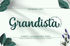 Grandista Script Product Image 1
