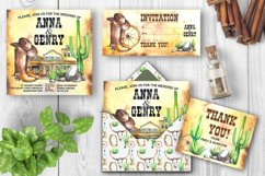 Watercolor Western Clipart Product Image 5