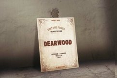 Dearwood Bold Font | Open Type & Woff Product Image 4