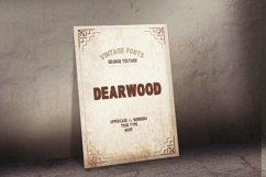 Dearwood Bold Font | Open Type & Woff Product Image 6
