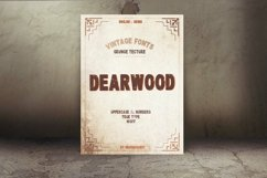 Dearwood Bold Font | Open Type & Woff Product Image 5