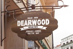 Dearwood Bold Font | Open Type & Woff Product Image 2