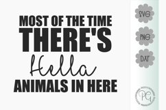 Hella Animals In Here SVG PNG JPG DXF Product Image 2