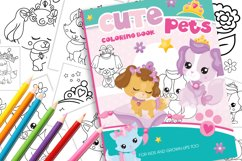 Cute Pets Coloring Book Product Image 1