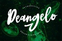 Web Font Deangelo - Brush Script Font Product Image 1