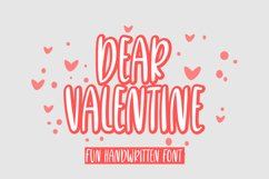 dear valentine Product Image 1