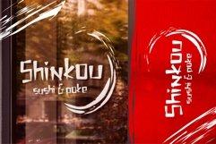 Shinkou - Japanese Style Font Product Image 5