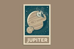 Retro Solar System Poster Product Image 2