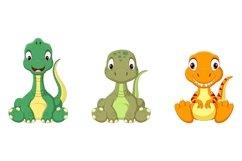 Cartoon Baby Dinosaurs Bundle Product Image 2