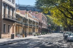 Terrace houses and stores. The Rocks. Sydney. Australia. Product Image 1