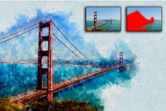 Artistic Watercolor Photoshop action Product Image 4