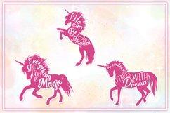 Unicorn SVG Bundle | Unicorn Mandala | Unicorn Monogram SVG Product Image 5