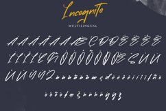 Incognito   Marker Font Product Image 5