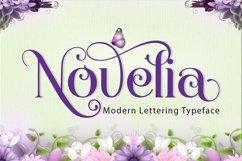 Novelia Typeface Product Image 1