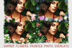 Summer overlays templates frames textures backdrop wedding Product Image 1