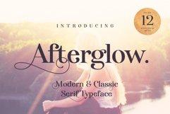 Afterglow. A stylish Serif Product Image 1