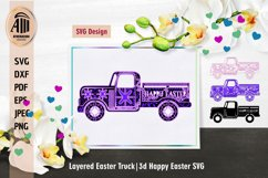 3d Layered Easter Truck|Layered Truck Mandala|3d Truck Product Image 2