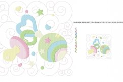 Baby Quilt Block 1 in 3 sizes Product Image 2