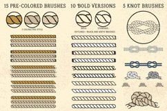 Sailor Mate's Rope Brush Collection Product Image 5