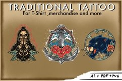 Bundle traditional tattoo design Product Image 3