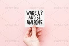Wake up and be awesome Product Image 1