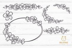 Cherry Blossom Big BUNDLE SVG, Spring FloralSVG Collection Product Image 6