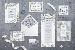 Floral wedding cards set Product Image 5