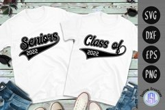 Seniors | Class of 2022 | Bundle Set of 2 | SVG DXF EPS PNG Product Image 1