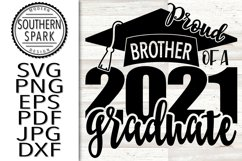 Proud Brother Of A 2021 Graduate Product Image 1