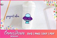 UFO MINI BUNDLE SVG 6 Mandala / Zentangle Designs Product Image 5