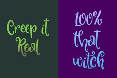 Something Wicked - a spooky script font! Product Image 4