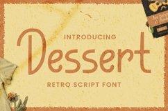 Web Font Dessert Font Product Image 1