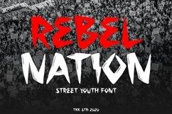 Rebel Nation - Graffiti Font Product Image 1