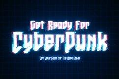 Web Font Gaxter - Cyberpunk Font Product Image 5