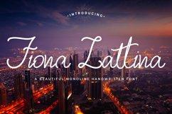 Monoline Handwritten - Fiona Lattina Product Image 1